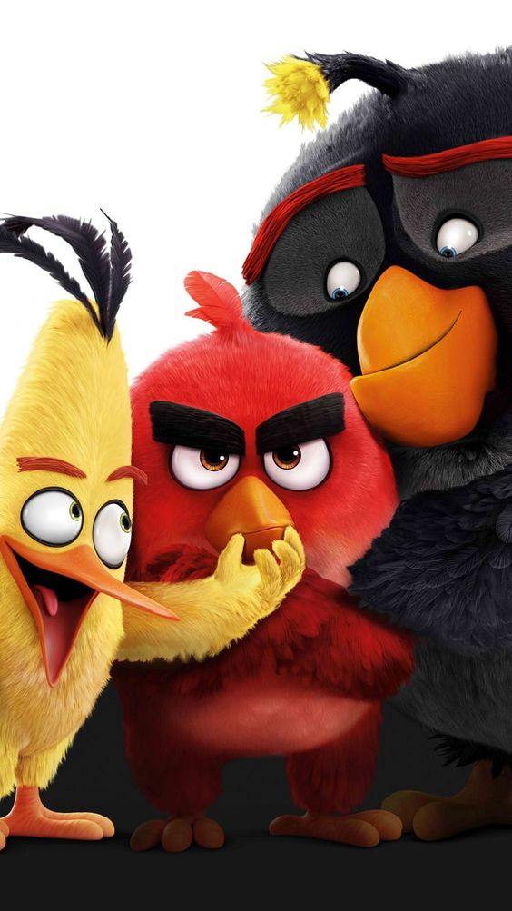 angry birds 2 image of red bomb and chuck