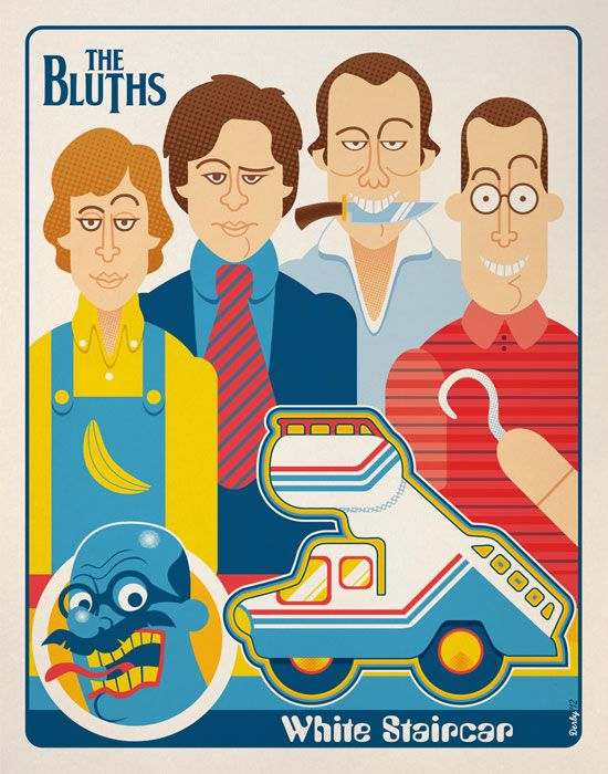 arrested development poster of bluths family