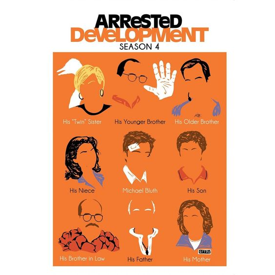 arrested development poster of bluth family