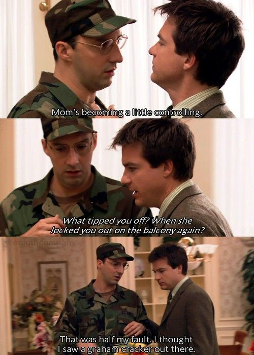 arrested development image of famous quote