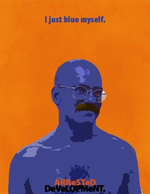 arrested development poster of tobias funke