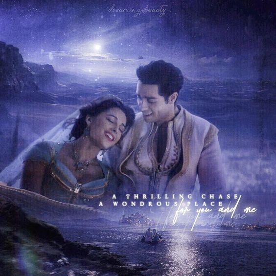aladdin image of jasmine and aladdin