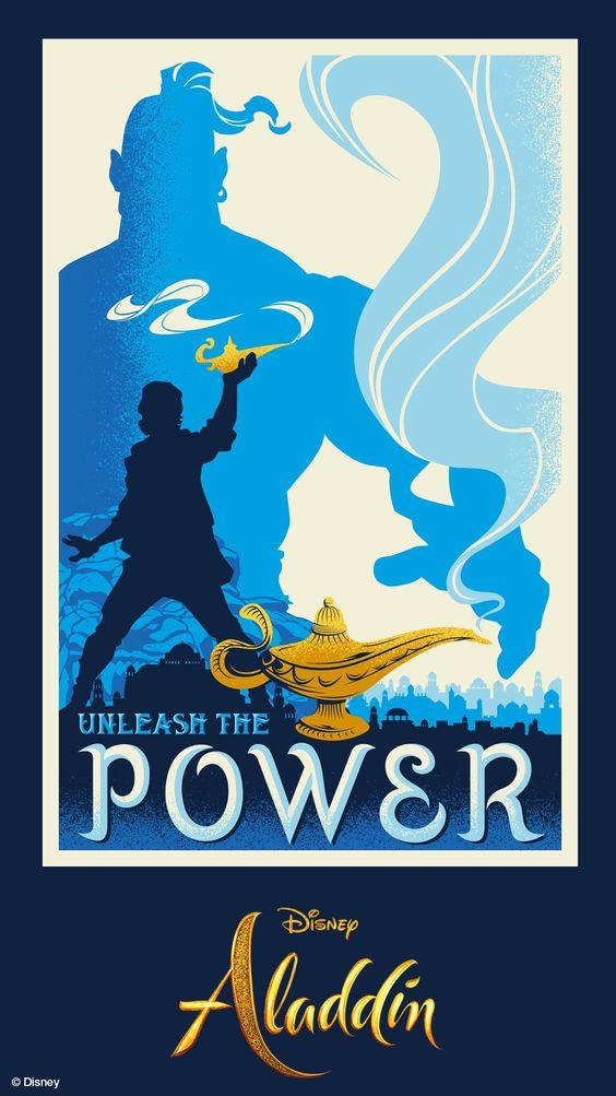 aladdin fanart poster