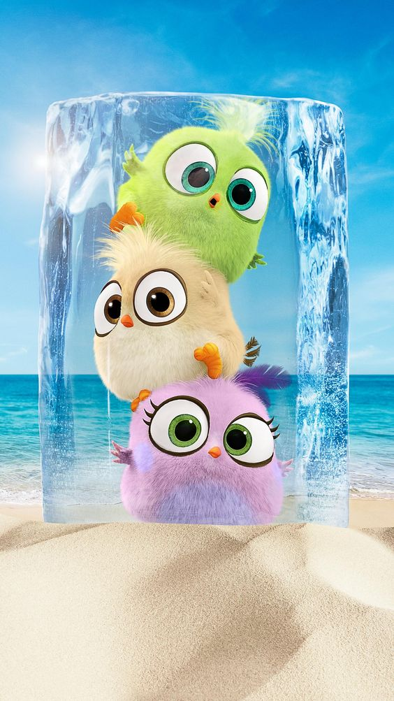 angry birds 2 image of three hatchlings