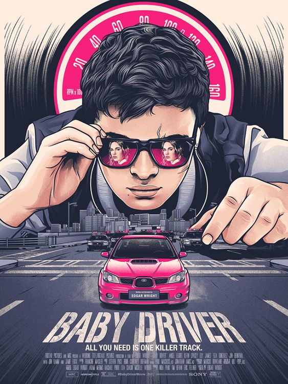 baby driver image of baby fanart