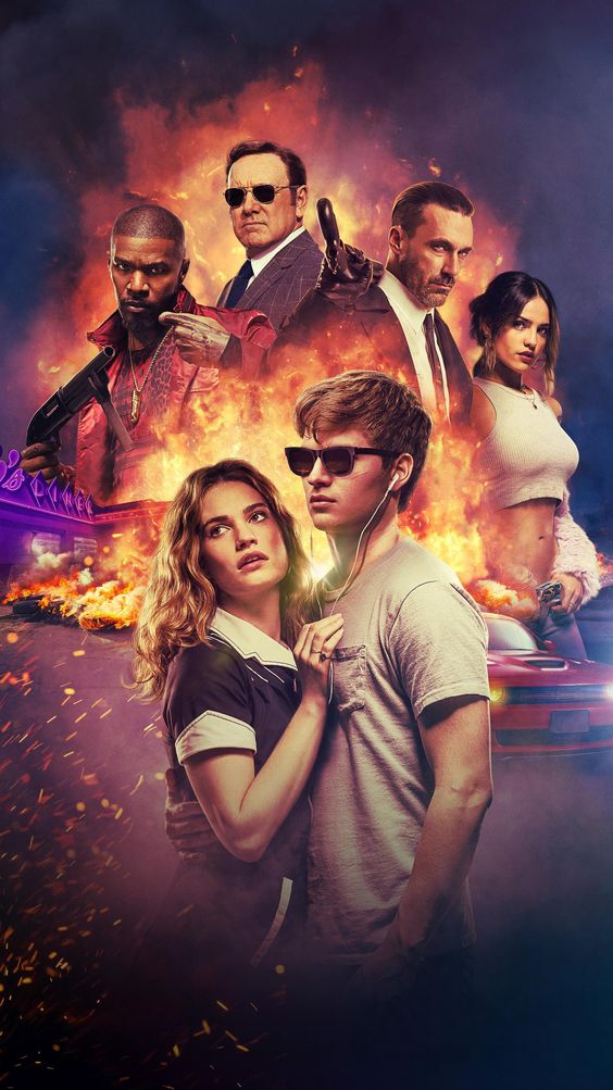 baby driver image of baby and debora