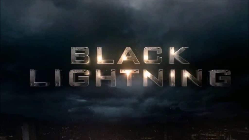black lightning poster fanmade