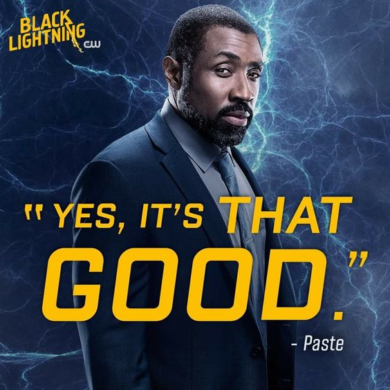 black lightning poster of famous dialogue by jefferson