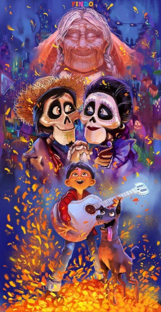 coco image of hector and imelda