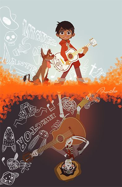 coco poster of miguel
