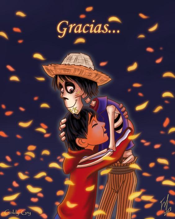 coco image of miguel and hector