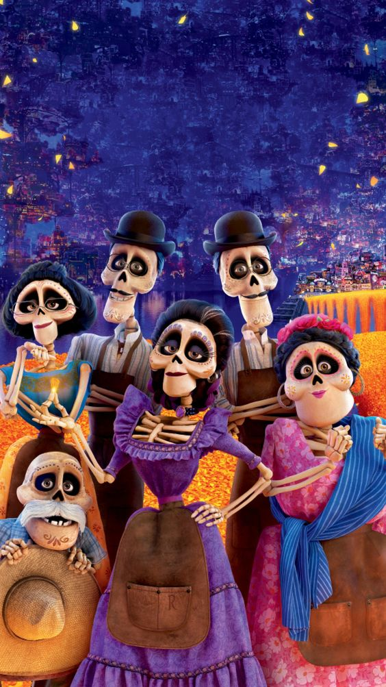 coco image of the skeletons