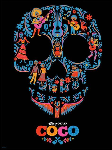 coco image of fanart poster