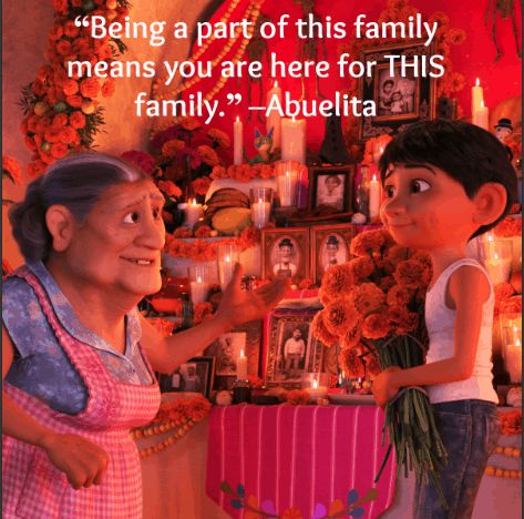 coco image of famous quote by abuleita