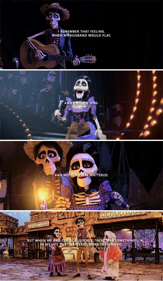 coco image of famous dialogue