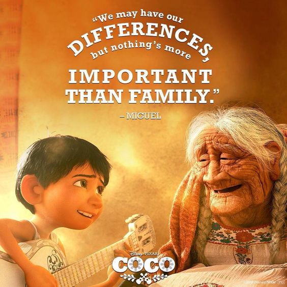 coco image of famous quote by mama coco