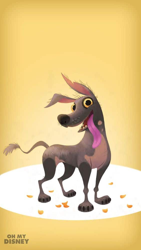 coco image of dog dante