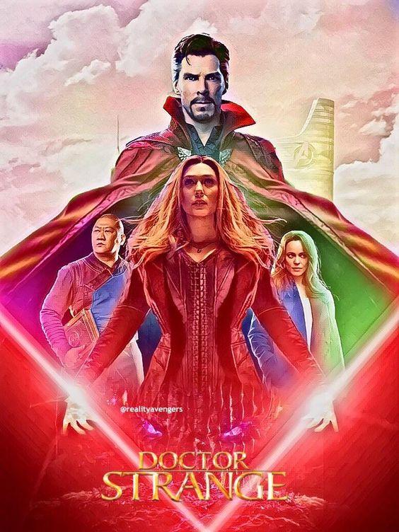 doctor strange image of movie poster