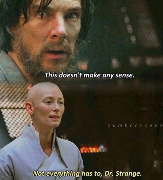 doctor strange famous quote