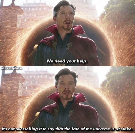 doctor strange image of famous quote by strange