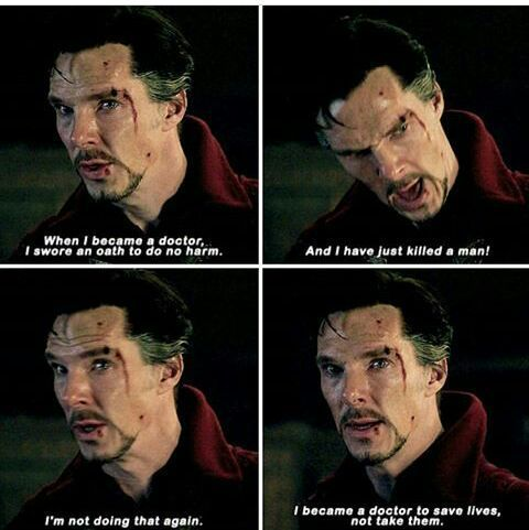 doctor strange image of famous quote