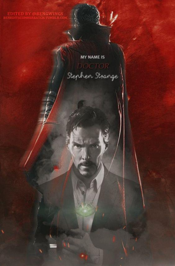 doctor strange image of fanart poster