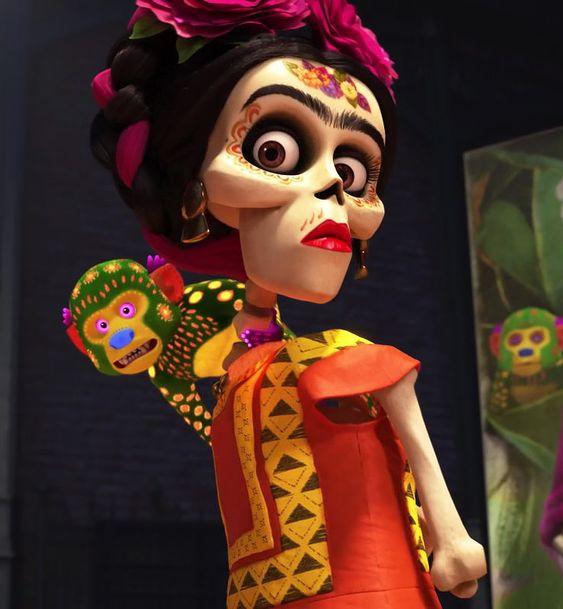 coco image of frida kahlo