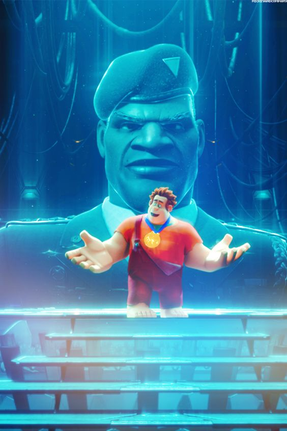 wreck it ralph image of general hologram