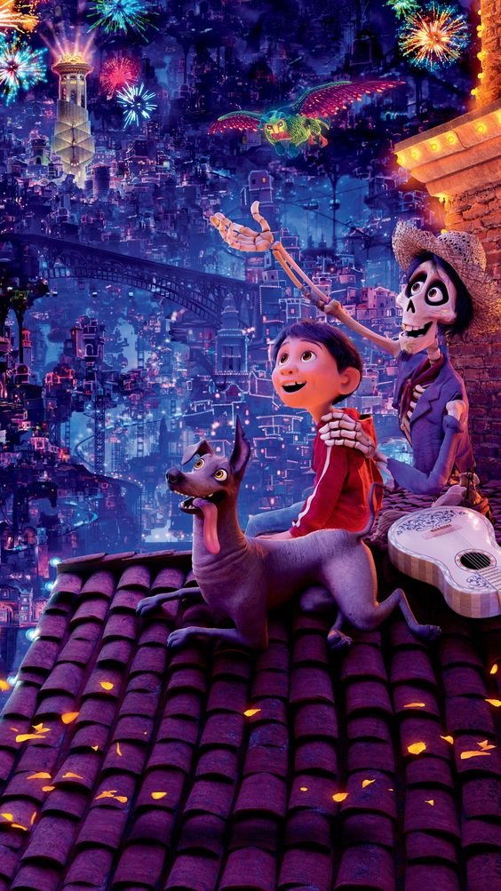 coco image of hector and miguel