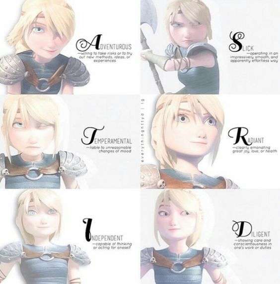 how to train your dragon image of astrid