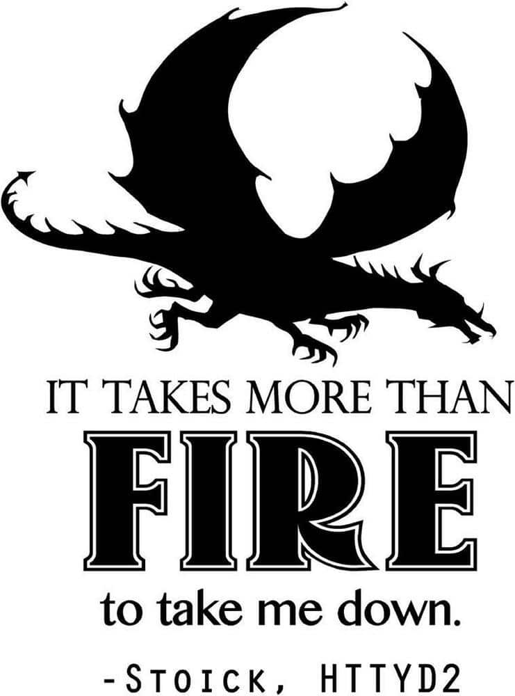 how to train your dragon image of famous quote