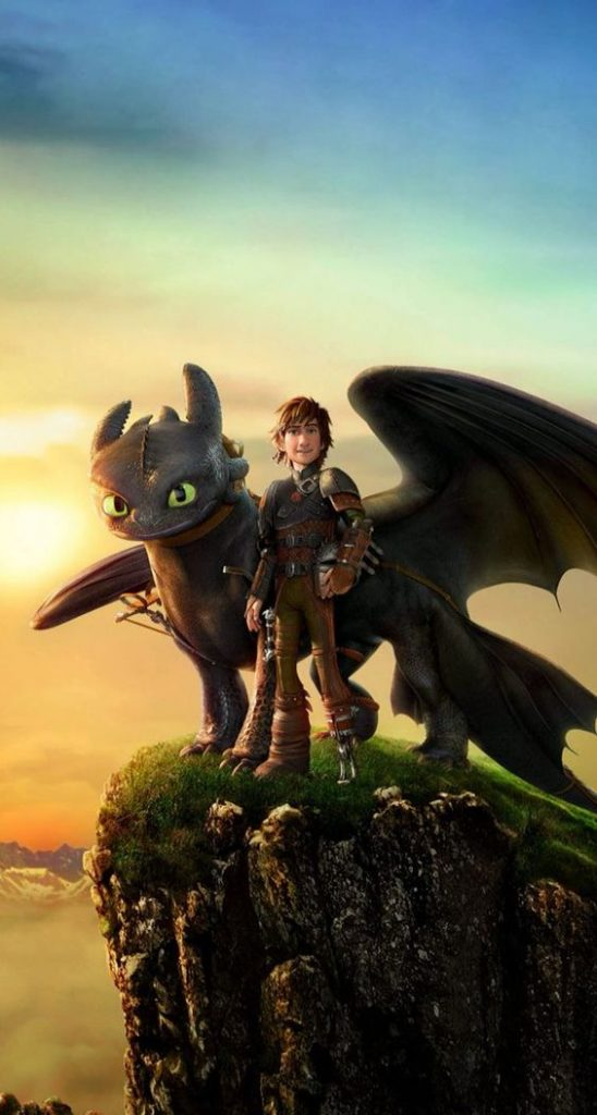 how to train your dragon image of toothless and hiccup