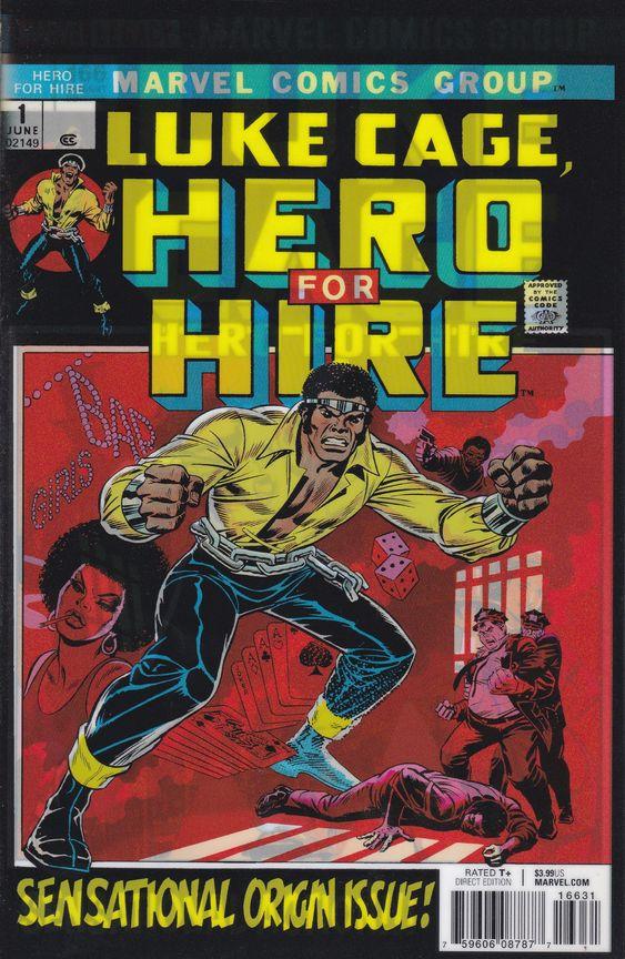 luke cage- marvel comics