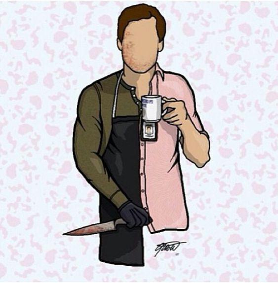 dexter poster- part-time serial killer