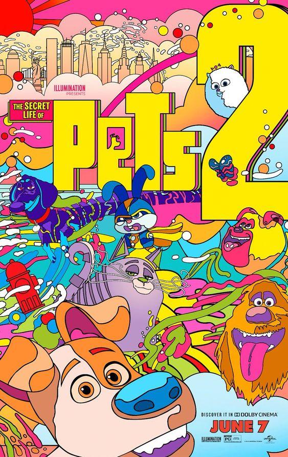 the secret life of pets art poster