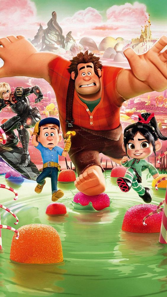 wreck it ralph image of all characters