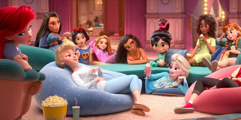 Disney princess in Comfy outfits