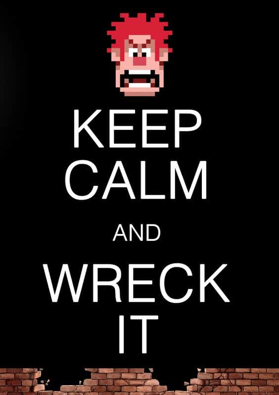 wreck it ralph image of funny quote