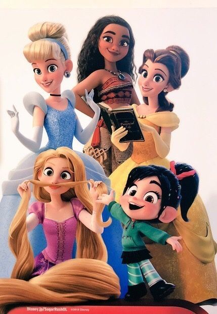 ralph breaks the internet image of princesses