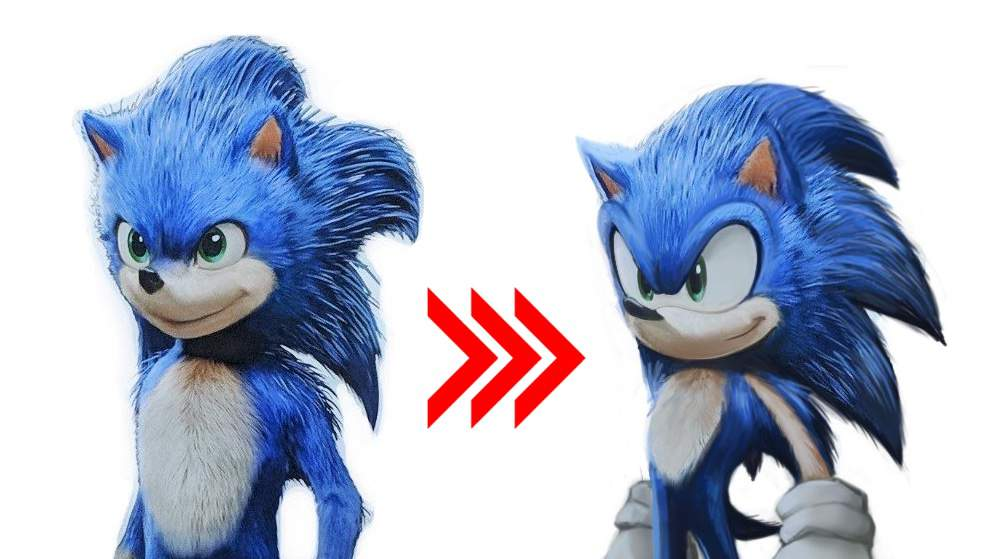 sonic the hedgehog image of new look of sonicc