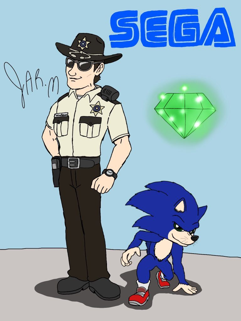 sonic the hedgehog image of tom
