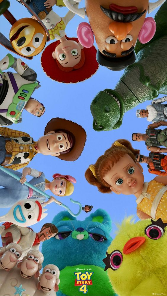 toy story 4 image of all characters