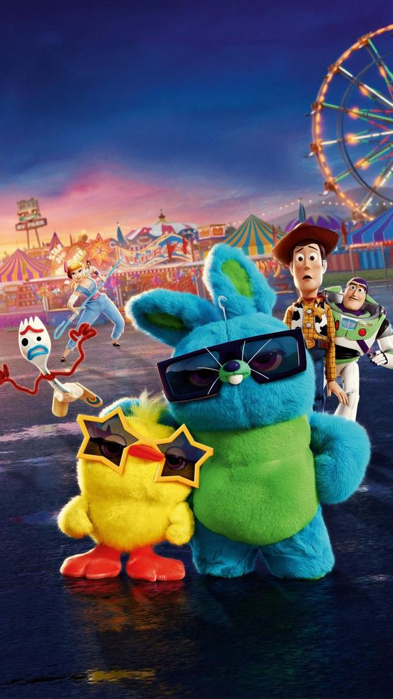toy story 4 image of bunny and ducky