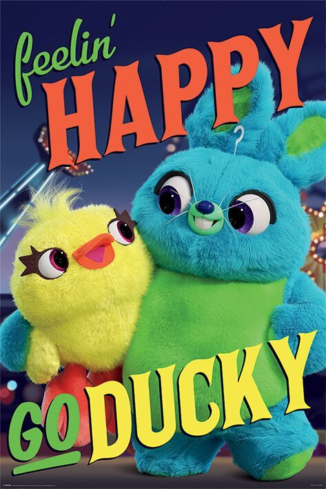 toy story 4 image of ducky and bunny