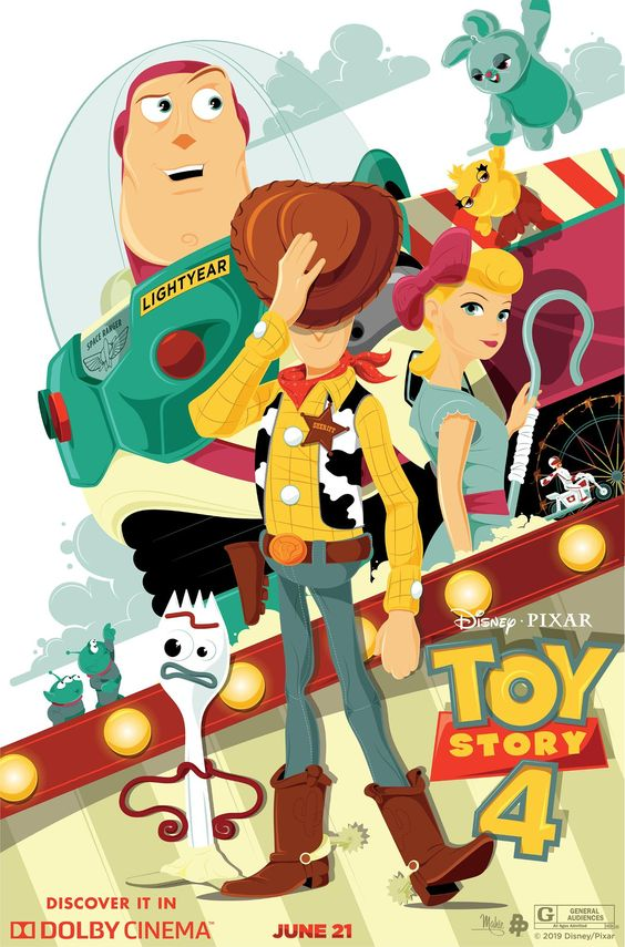 toy story 4 poster fanart