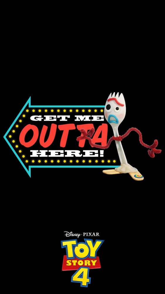 toy story 4 image of forky