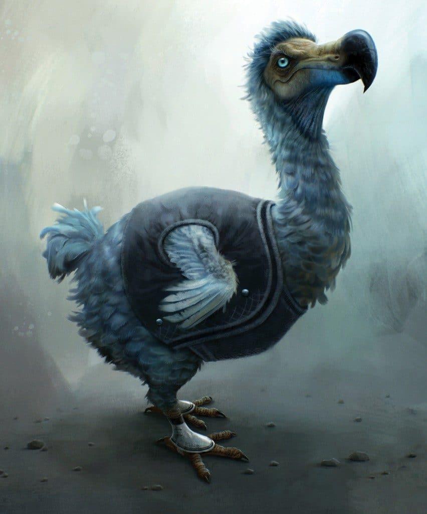 alice in wonderland image of dodo bird