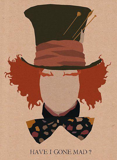 alice in wonderland image of fanart poster