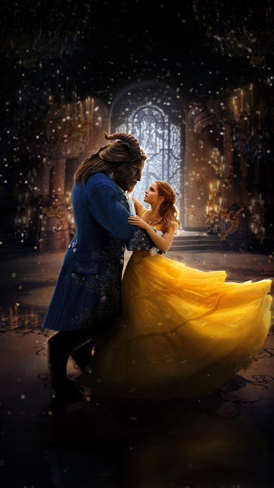 beauty and the beast image of beast and beauty