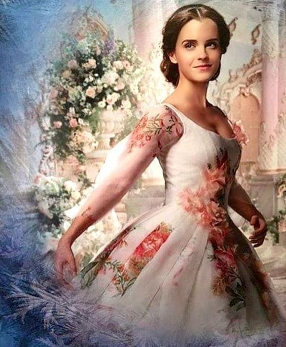beauty and the beast image of belle
